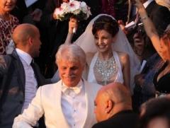 Свадьба Микеле Плачидо и Федерики Винченти